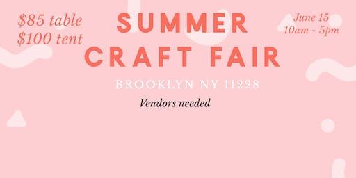 NYC vendors needed