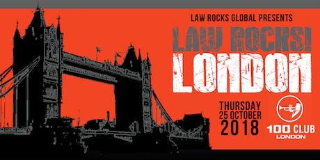 Law Rocks! London - October 2019 tickets
