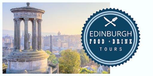 3 Hour Edinburgh Walking Food and Drinks Tour