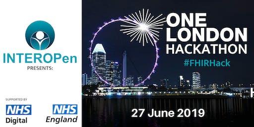 INTEROPen presents: One London Hackathon