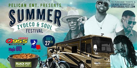 Summer Zydeco & Soul Festival tickets