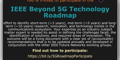 IEEE International Network Generations Roadmap (INGR) Workshop