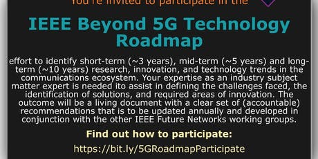 IEEE International Network Generations Roadmap (INGR) Workshop tickets