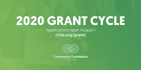2020 Grant Application Training tickets