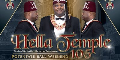 Hella Temple 105  - Potentate Ball Weekend 2019