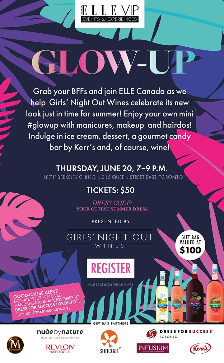 GLOW-UP presented by Girls' Night Out Wines image