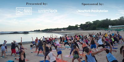 4th Annual Sunset Yoga at the Park: Playland Beach 8/14/2019