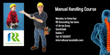 Manual Handling Course Dublin Saturday tickets