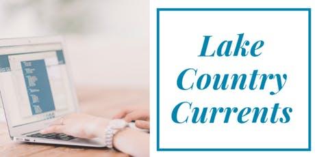 Lake Country Currents: June Mixer tickets