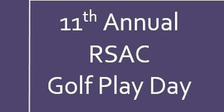 11th Annual RSAC Golf Play Day tickets