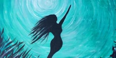 Mermaid Bliss Paint Night at Green Bar