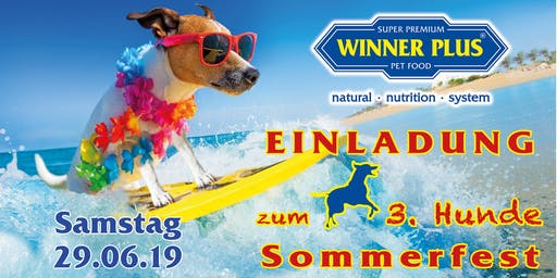 WINNER PLUS Hundesommerfest