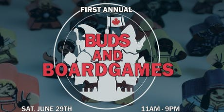 First Annual Buds and Boardgames tickets