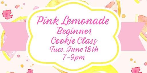 Pink Lemonade Beginner Cookie Class