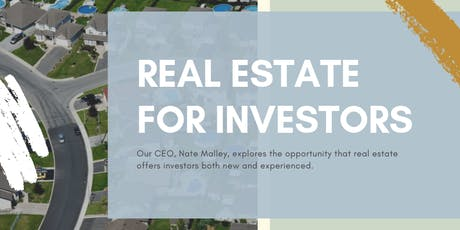 Real Estate for Investors tickets