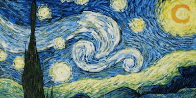 Van Gogh Paint Night at Green Bar