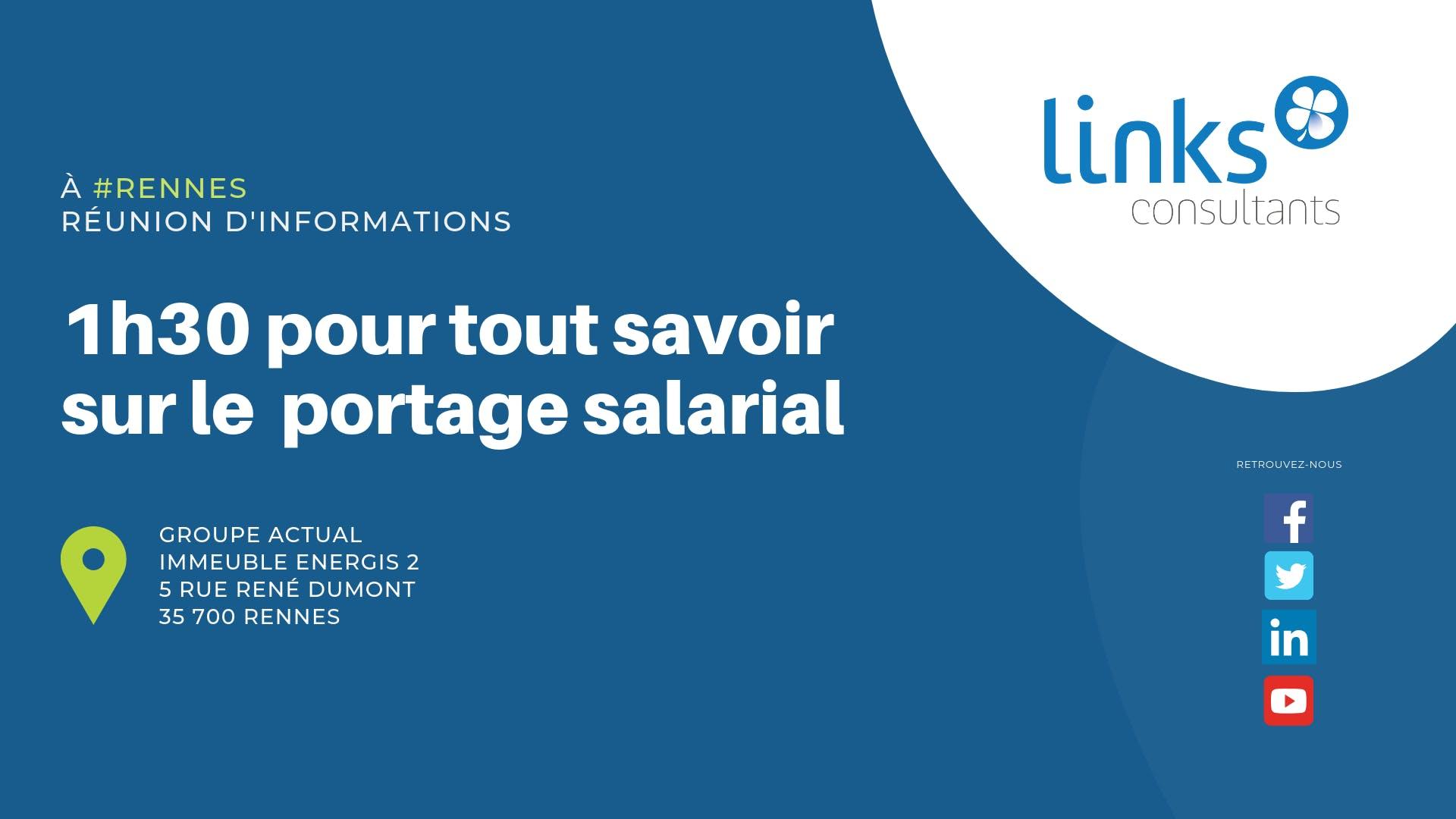 1h30 pour tout savoir sur le portage salarial #Rennes | Links Consultants