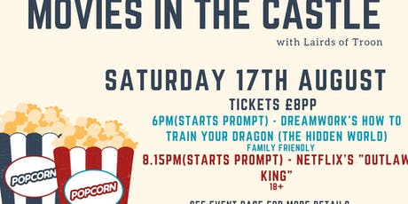 Movies in the Castle tickets