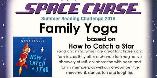 Family Yoga: How to Catch a Star