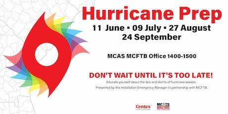 Hurricane Preparedness Brief tickets