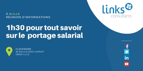 1h30 pour tout savoir sur le portage salarial #Lille | Links Consultants billets