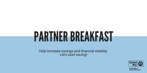 Partner Breakfast to Help Increase Savings & Financial Stability