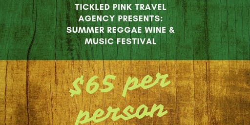 Summer Reggae Wine & Music Festival at Linganore Winecellars July 20!