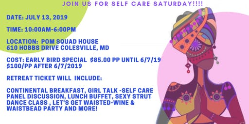 Women's Saturday Self Care Retreat - Early Bird