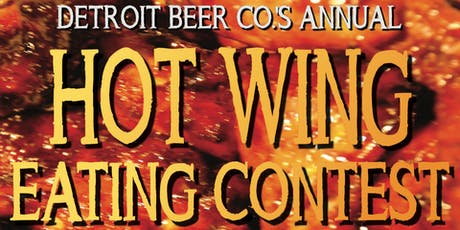 DBC's Annual Hot Wing Eating Contest! tickets