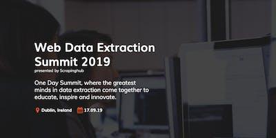 Web Data Extraction Summit