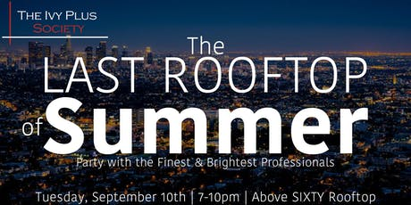 LA: The Last Rooftop of Summer tickets