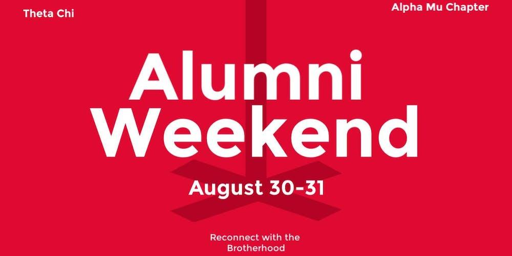 Theta Chi Alumni Weekend Tickets, Fri, Aug 30, 2019 at 10:00