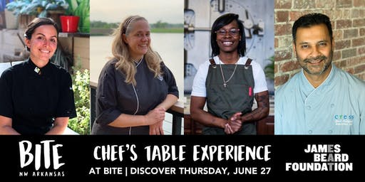 Chef's Table Experience curated by the James Beard Foundation