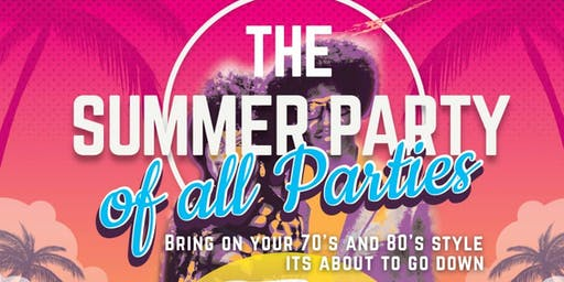 Old School Summer Party: Fundraiser to support youth of Ghana
