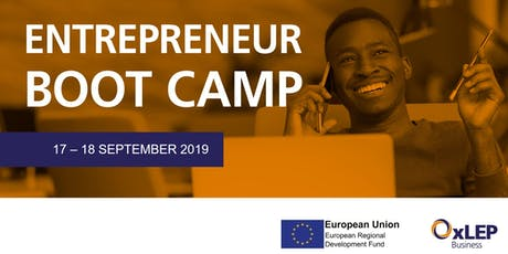 OxLEP Business Entrepreneur Bootcamp tickets