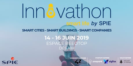 Innovathon Smart Life : inventer la ville de demain billets