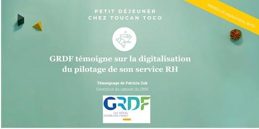 GRDF témoigne sur la digitalisation des KPI RH