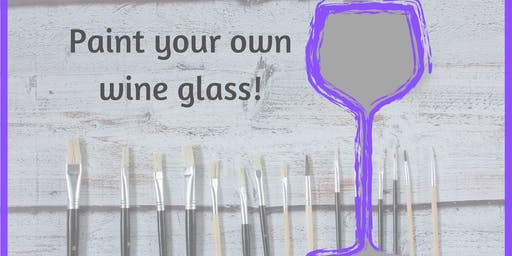 Paint your own Wine Glass
