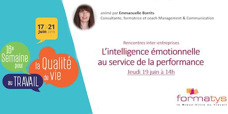 L'intelligence émotionnelle au service de la performance billets