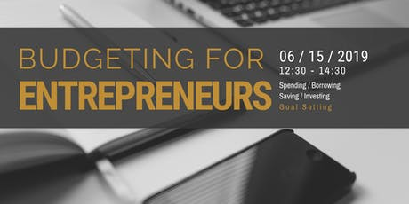 Budgeting For Entrepreneurs tickets