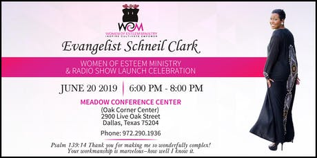 Women Of Esteem Ministry and Radio Show Launch Celebration tickets