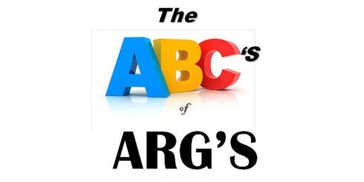 The Columbus Division Presents: The ABCs of All ARGs Annual Mixer