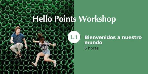 HELLO POINTS WORKSHOP L1 POINTS OF YOU® PALMA DE MALLORCA