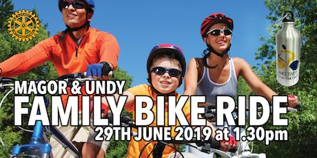 Magor & Undy Sponsored Charity Family Bike Ride 2019 tickets