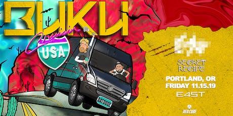 BUKU: CRUISIN' USA TOUR tickets