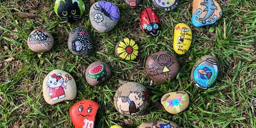 Rock Painting with Fayette Rocks (10am session)