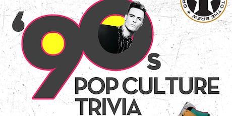 '90s Pop Culture Trivia at Growler USA Albuquerque tickets