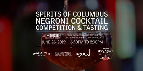 Spirits of Columbus Negroni Competition 2019 tickets