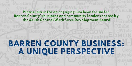 Barren County Business Luncheon Forum