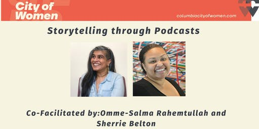 Storytelling through Podcasts